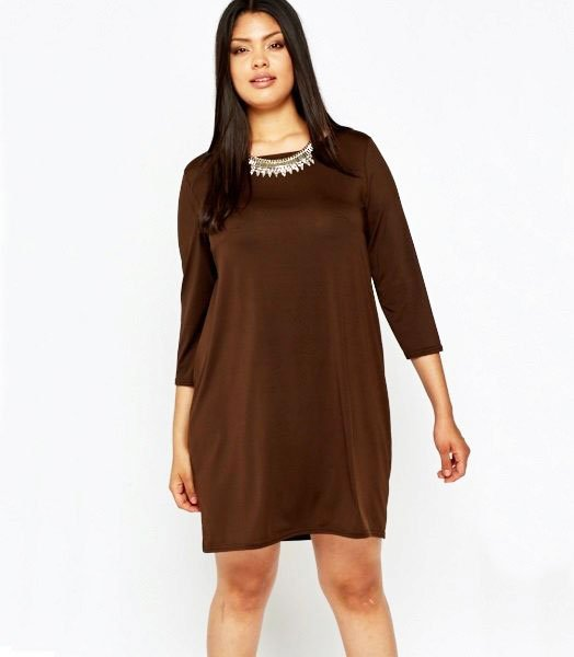 Shift dress is a short, loosely falling from the shoulder line dress with level lines