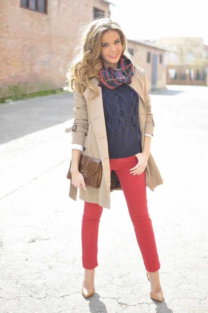 a thin turtleneck or a soft sweatshirt. In this outfit you will be comfortable and comfortable. - outfits ideas
