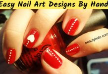 21 Idea & 81 Images Easy Nail Art Designs By Hand