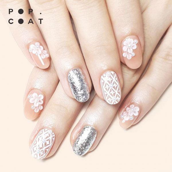 glitter nails ombre