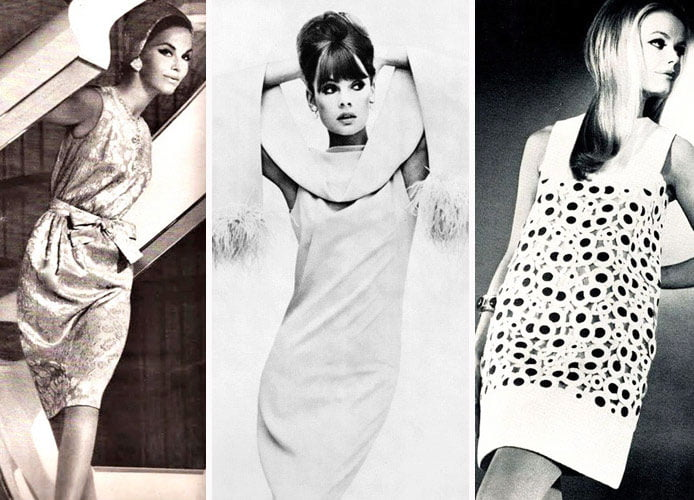 heroine Audrey Hepburn from the famous picture Breakfast at Tiffany's - shift dress pattern