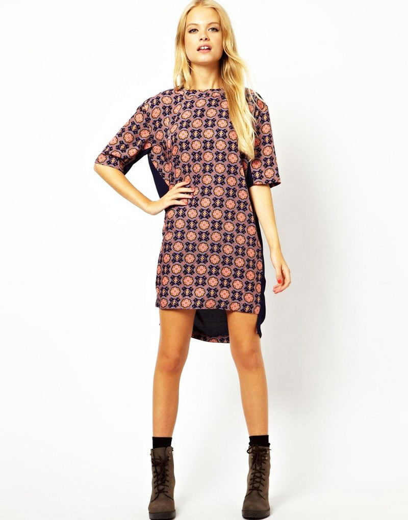 shift dress patterns simplicity