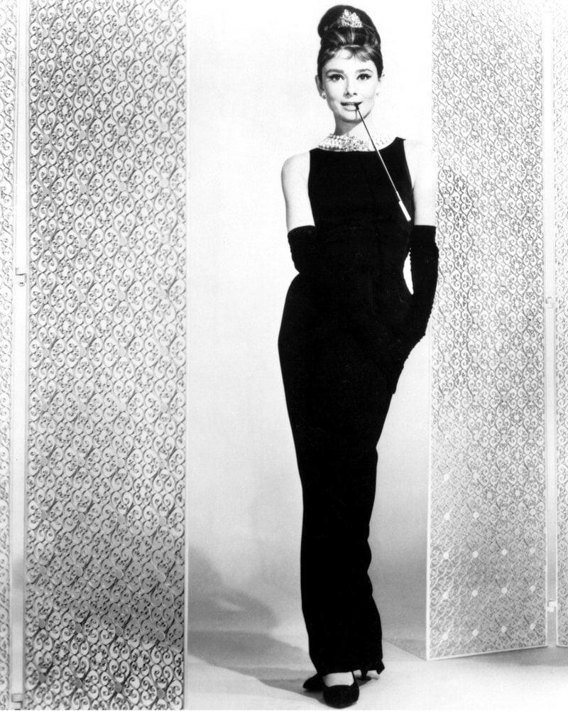 the heroine Audrey Hepburn