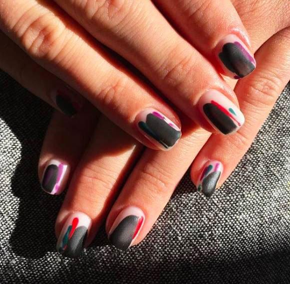 water nail designs