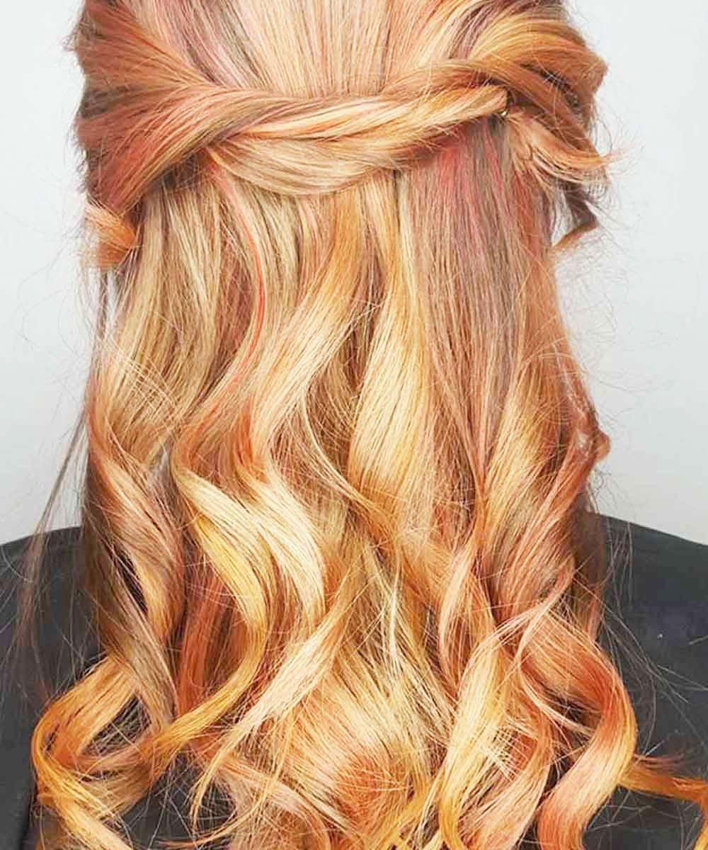 Blonde Hair In The Fashion World - Blonde Highlights On Dark Hair