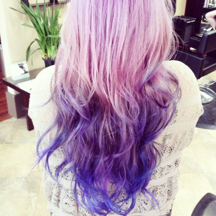 Who's Going To Get Purple Ombre?