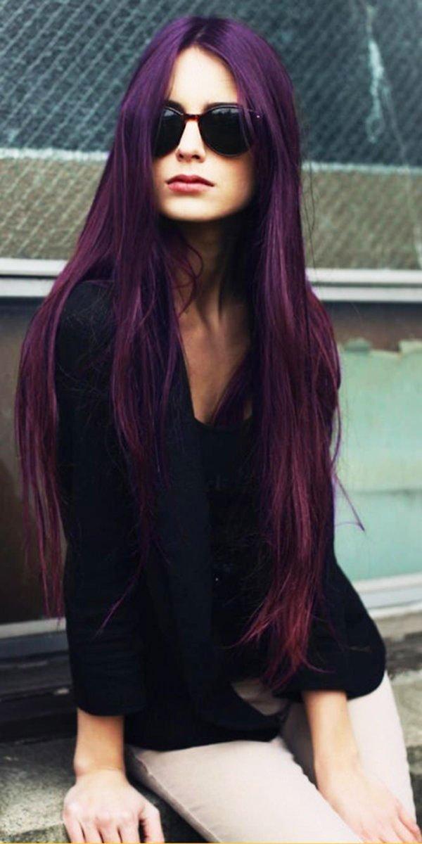 19-Awesome-Medium-Length-Purple-Hair-Highlights-In-Blonde-Hair