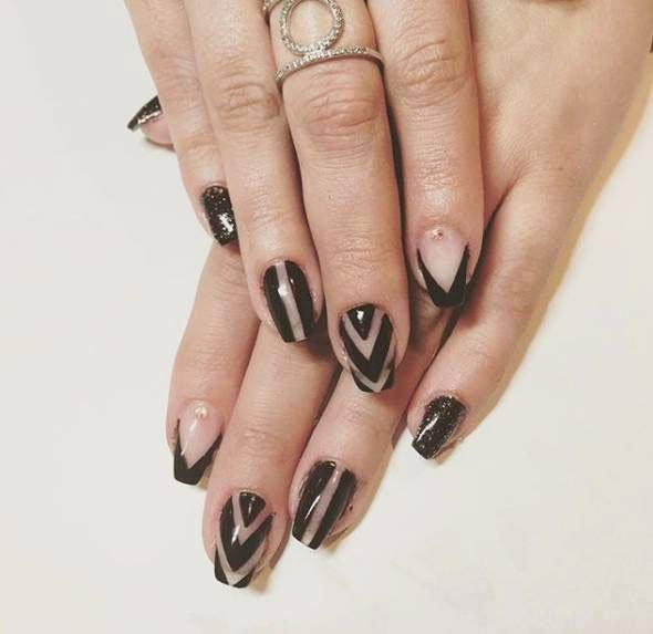 gel nail designs gallery