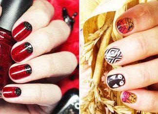 51 Cool Ideas Of Halloween Nails Art Design