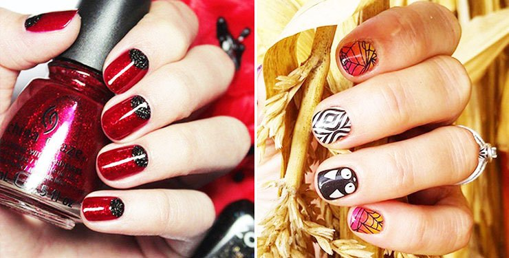 51 Cool Ideas Of Halloween Nails Art Design