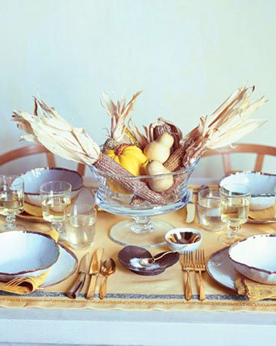 And finally, autumn compositions complete the feeling of abundance and generosity of nature, a real holiday- Thanksgiving Decorations For Home