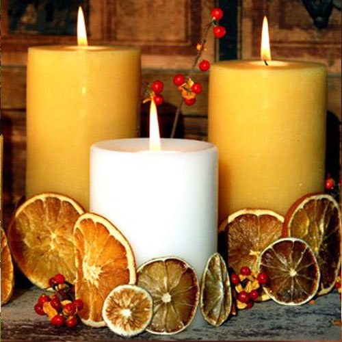 Candles - used in many cultures as a symbol of the beginning of the festive season - Thanksgiving Decorations For Home