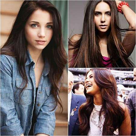 Dark Brown Hair for beauteyful hair style