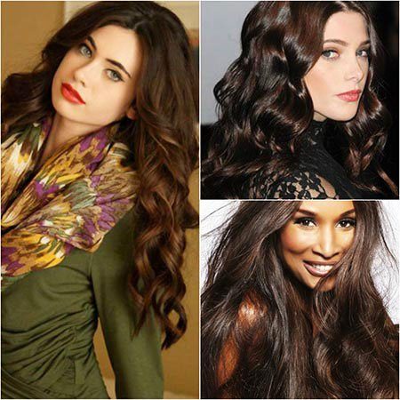 Dark Brown Hair for female