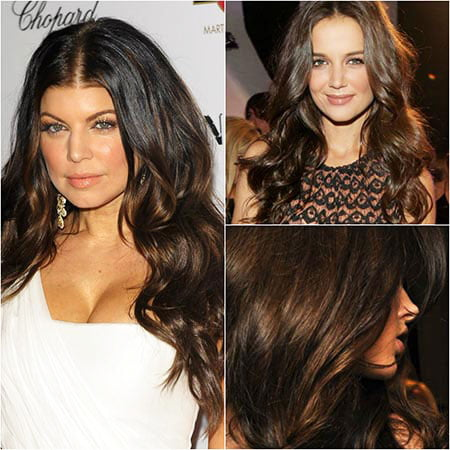 Dark Brown Hair for long hair