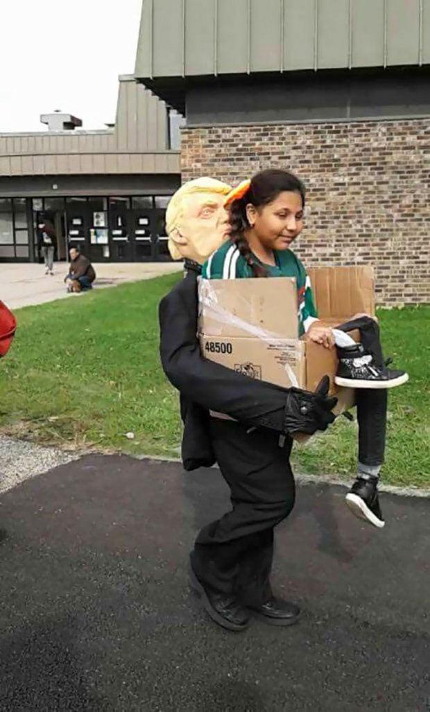 Donald Trump's Halloween costume - Creative Halloween Costumes Ideas