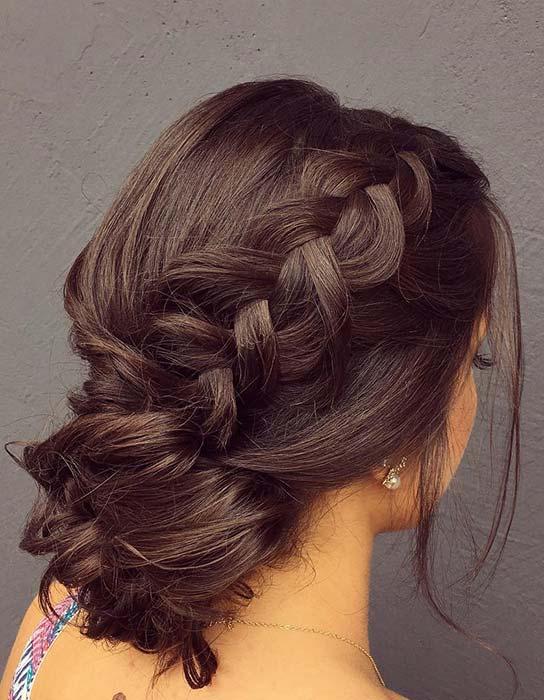 Elegant-Low-Bun-and-Braid