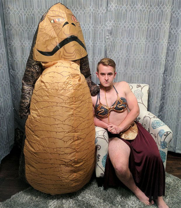 Halloween idea for Star Wars fans -Creative Halloween Costumes Ideas