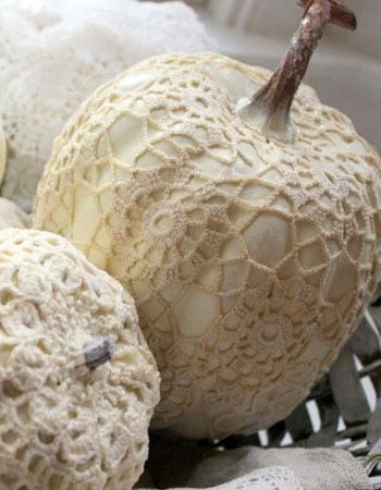 Here are some creative, kind examples of very even glamorous pumpkins for a holiday