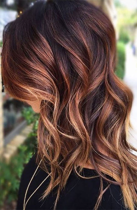 If you have blond hair or any other hair color - Blonde Highlights On Dark Hair