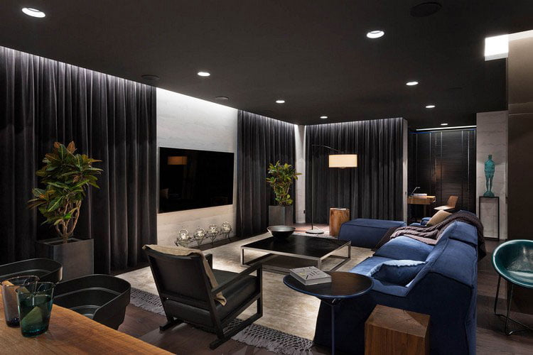 In the worst-case scenario, you will have to remodel the design of the living room.