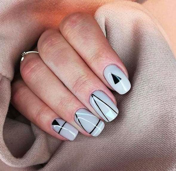 Manimal In Style Minimalismfor Long Nails