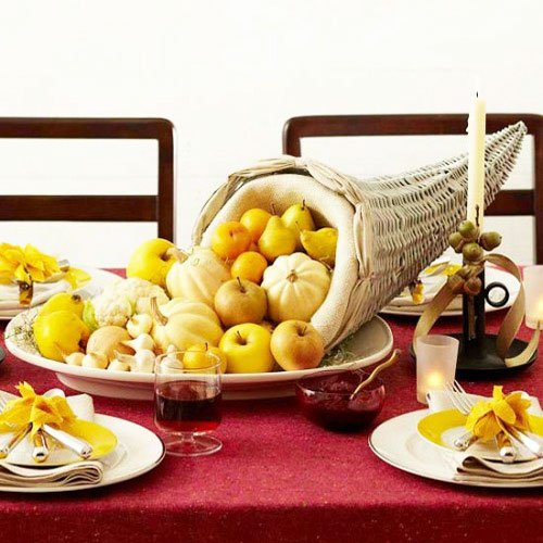 One of the most famous symbols of Thanksgiving is the cornucopia - Thanksgiving Decorations For Home