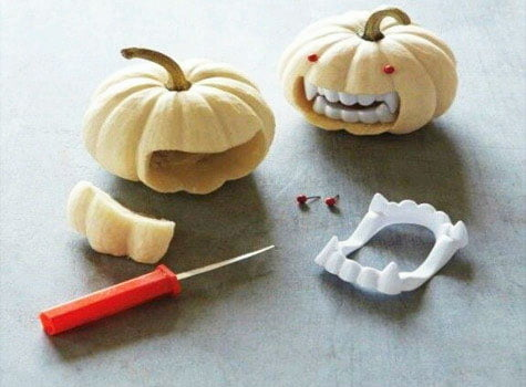 Pumpkin - Vampire (pumpkin for halloween)