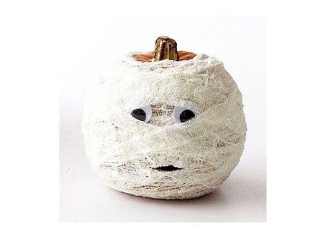 Pumpkins - Mummies