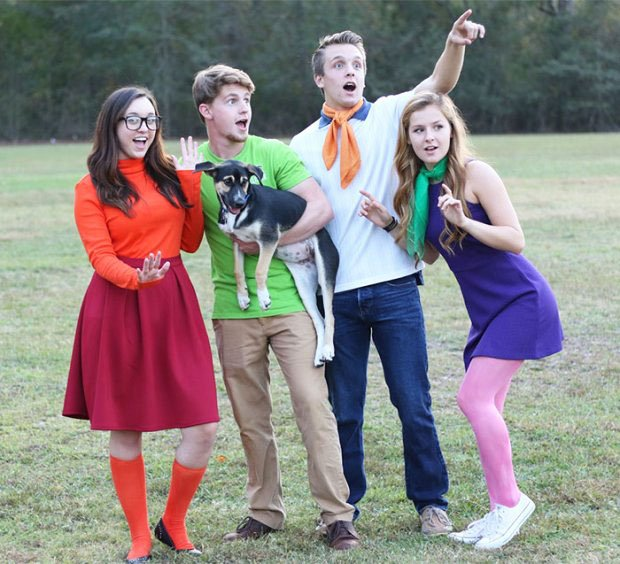 Scooby-Duy Heroes - Halloween Idea for Company