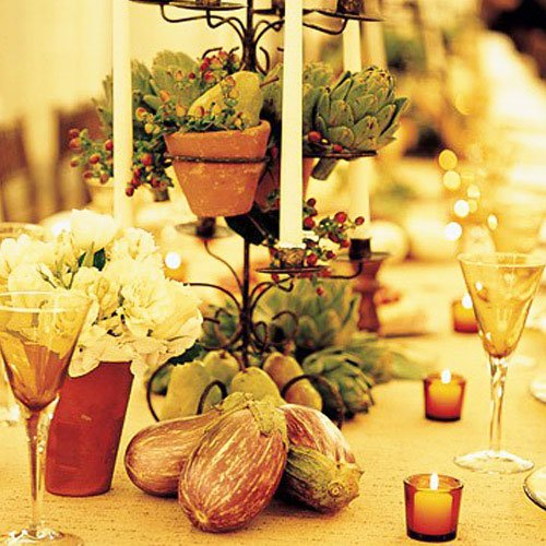 Still, for decor use and traditional tea candlesticks - Thanksgiving Decorations For Home