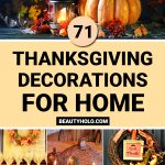 Thanksgiving Decorations For Home