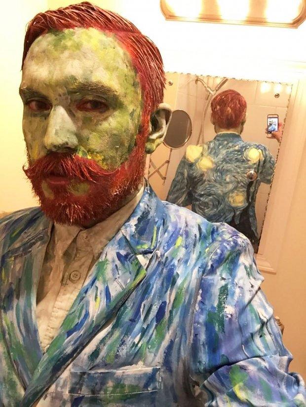Van Gogh Costume for October 31 - Creative Halloween Costumes Ideas