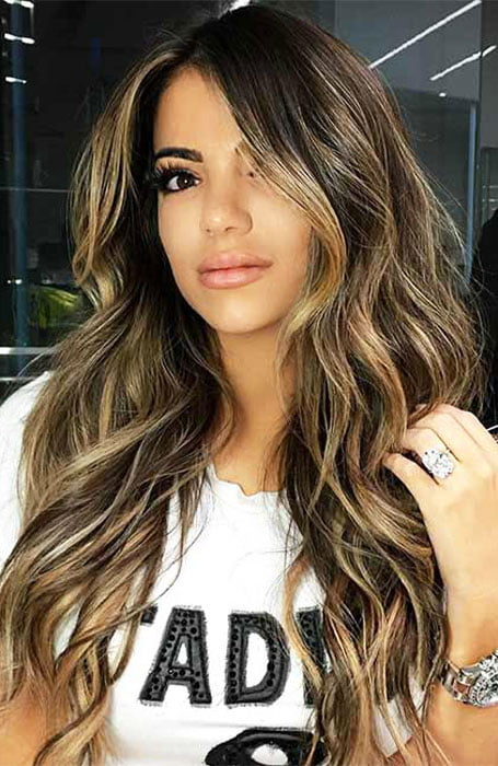 How To Get Light Strands In Black Hair - Blonde Highlights On Black Hair