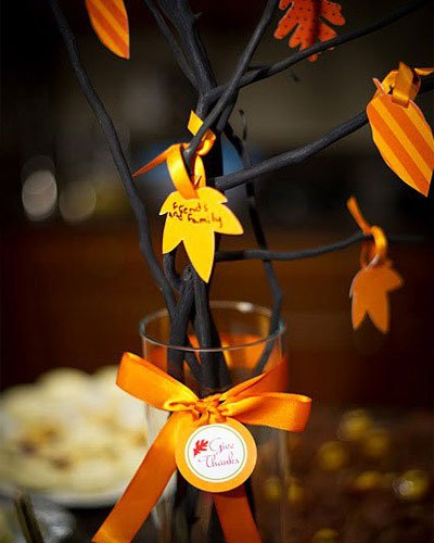 a real holiday- Thanksgiving Decorations For Home