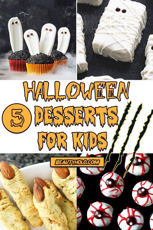 desserts for halloween