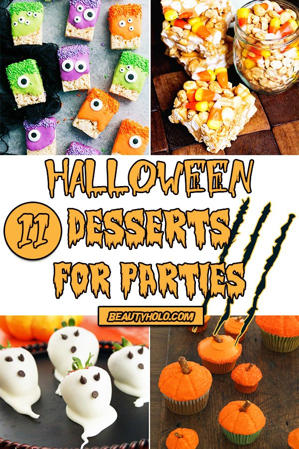 easy halloween desserts for parties