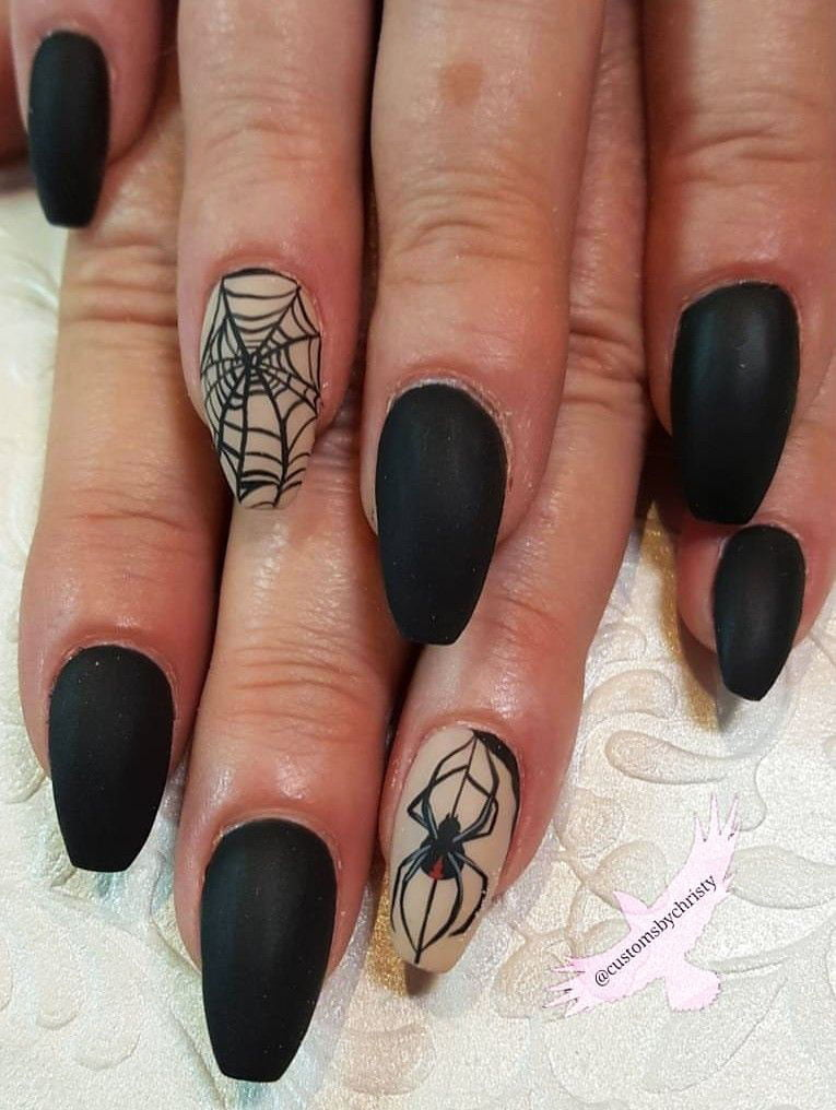 hollween nail art design by bhost