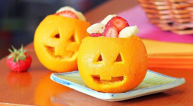 Dessert For Halloween: Orange Jack