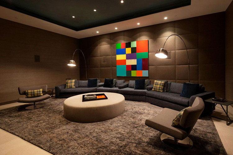 interior design. The living room