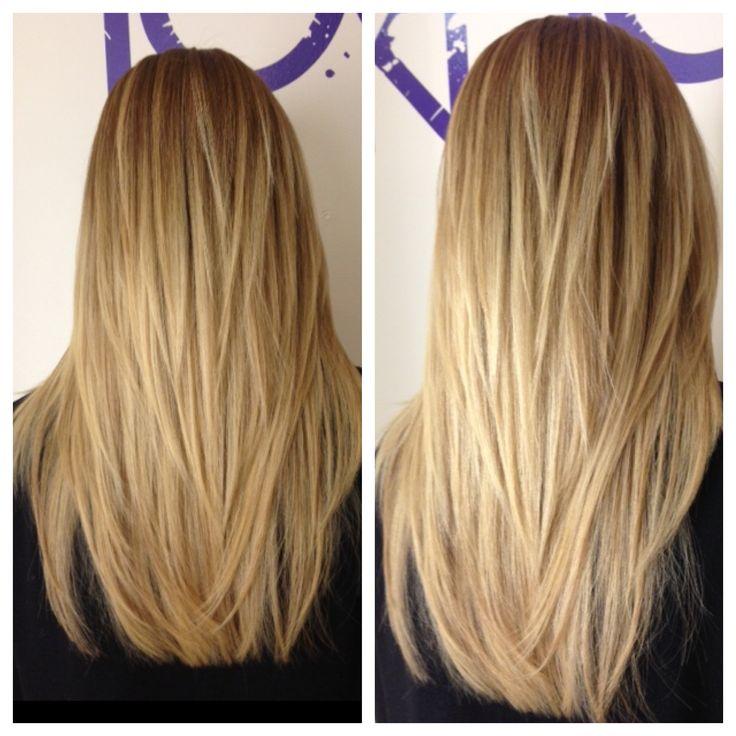lob female hair cut