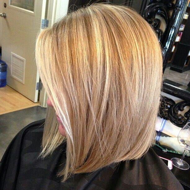 lob hair cut for small hair girls