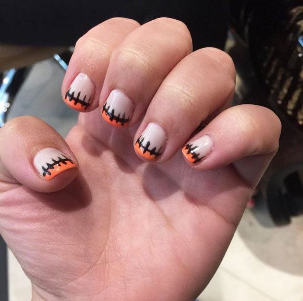 scary nails