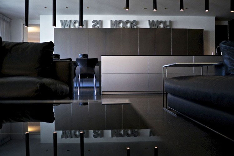 the interior design