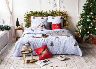 30 photo ideas diy christmas decorations New Year's bedroom decor