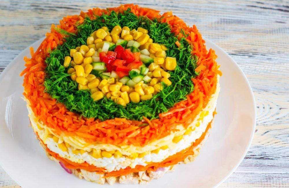Christmas And New Year Salad - Christmas Side Salads