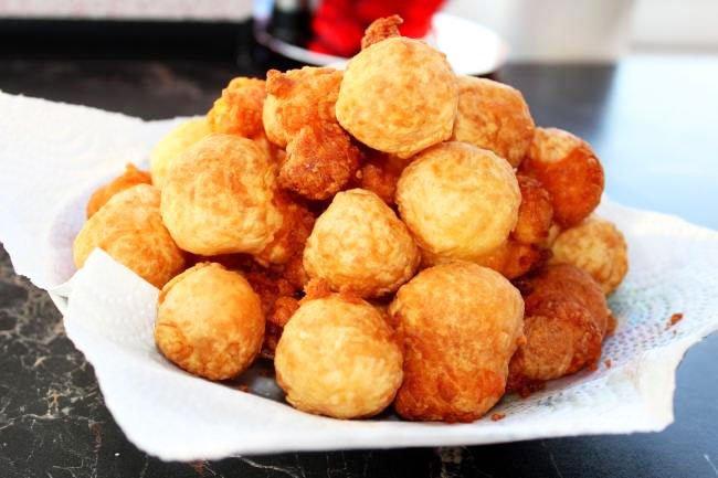 Crispy Cheese Balls Snacks For New Year