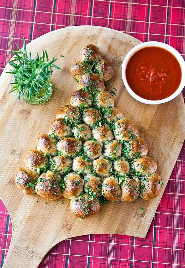 Garlic Buns Snacks For New Year