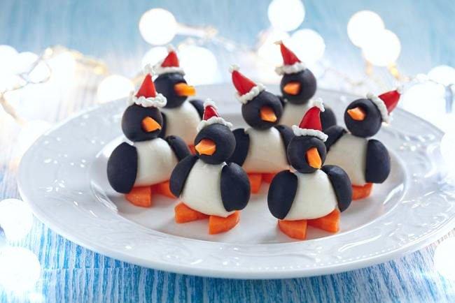 Penguins Snacks For New Year