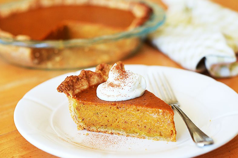 Pumpkin Pie -Traditional-Thanksgiving-Side-Dishes